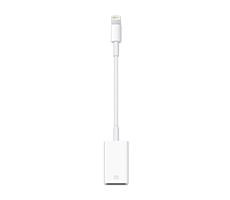 apple lightning to usb camera adapter image