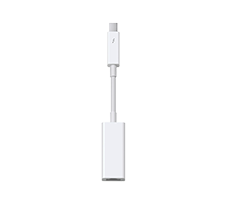 apple thunderbolt to firewire adapter image