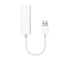 apple usb ethernet adaptor image