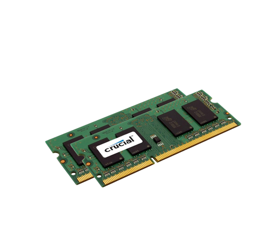 crucial 1866mhz so-dimm 16gb kit (2x8gb) image