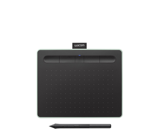 wacom intuos small bluetooth pen only tablet image 1