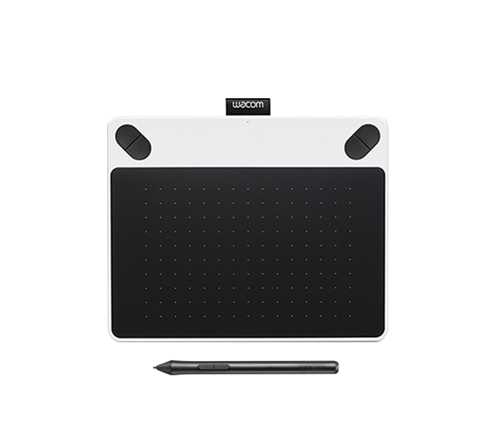 wacom intuos creative draw white pen tablet image