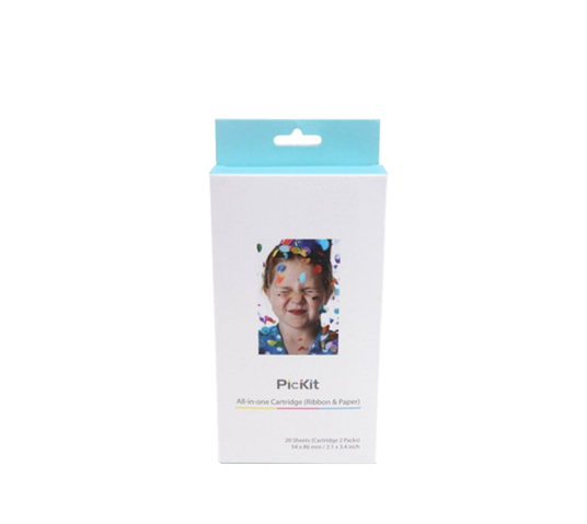 pickit photo printer cartridge (pack of 2) image