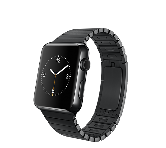 series 1 - 42mm space black stainless steel with space black link bracelet image