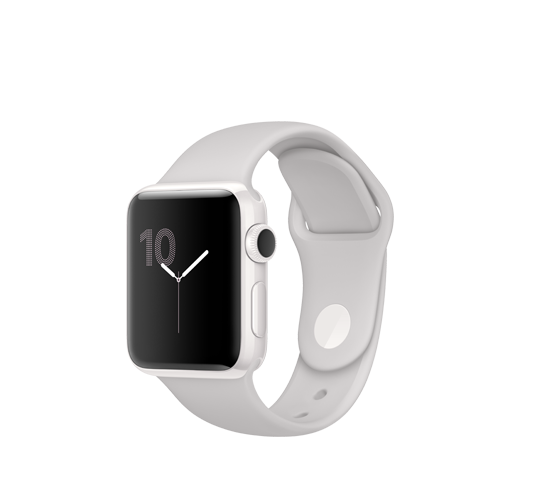 edition 38mm ceramic case - cloud sport band image